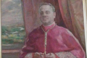 In mostra il ritratto di Mons. Martella